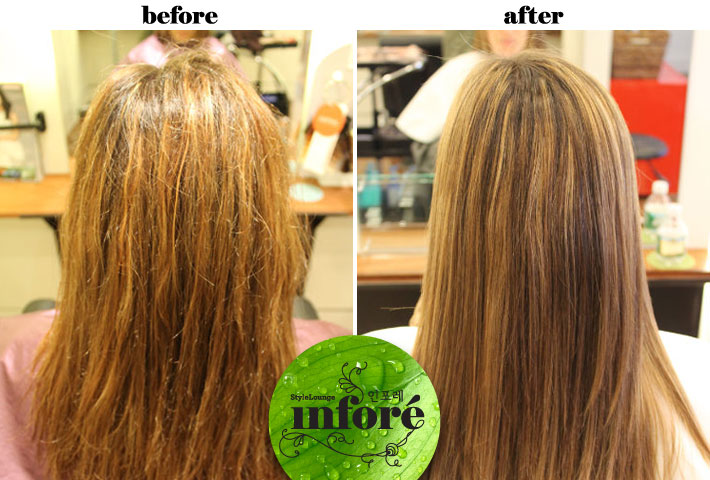 Infore S Blog 187 Keratin Treatment Before Amp After