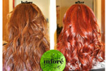 Infore Color Before and After 2
