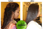 Infore Hair Straightening Before and After 14