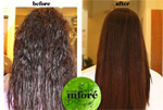 Infore Hair Straightening Before and After 15
