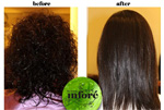 Infore Hair Straightening Before and After 17