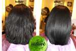 Infore Hair Straightening Before and After 1