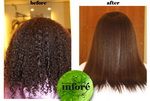 Infore Hair Straightening Before and After 22