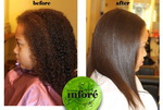 Infore Hair Straightening Before and After 23