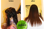 Infore Hair Straightening Before and After 2
