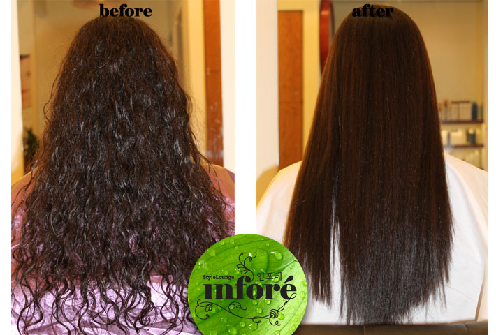 Straightening Black Hair With The Japanese Straightening