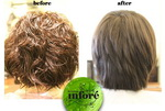 Infore Hair Straightening Before and After 30