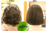 Infore Hair Straightening Before and After 33
