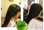 Infore Hair Straightening Before and After 35
