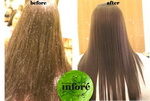 Infore Hair Straightening Before and After 36