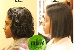 Infore Hair Straightening Before and After 39