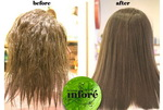 Infore Hair Straightening Before and After 40
