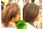Infore Hair Straightening Before and After 44