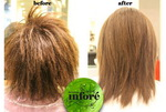 Infore Hair Straightening Before and After 46