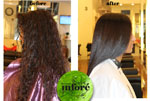 Infore Hair Straightening Before and After 4