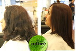 Infore Hair Straightening Before and After 50