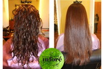 Infore Hair Straightening Before and After 55