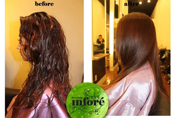 Permanent Hair Straightening Method Improves The Softness