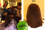 Infore Hair Straightening Before and After 6