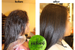 Infore Hair Straightening Before and After 8