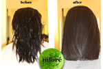 Infore Hair Straightening Before and After 9