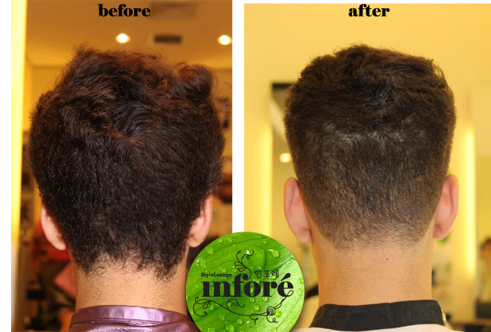 Infore Japanese Hair Straightening And Brazilian