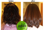 Infore Keratin Treatment Before and After 13