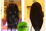 Infore Keratin Treatment Before and After 16