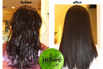 Infore Keratin Treatment Before and After 17
