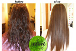 Infore Keratin Treatment Before and After 18