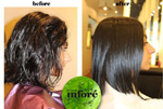 Infore Keratin Treatment Before and After 20