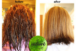 Infore Keratin Treatment Before and After 21