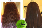 Infore Keratin Treatment Before and After 25