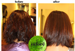 Infore Keratin Treatment Before and After 2