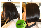 Infore Keratin Treatment Before and After 30