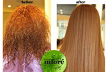 Infore Keratin Treatment Before and After 33