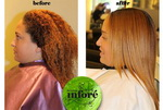 Infore Keratin Treatment Before and After 34