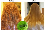 Infore Keratin Treatment Before and After 36