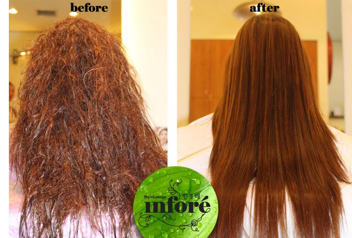 Infore Japanese Hair Straightening And Brazilian