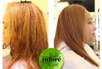 Infore Keratin Treatment Before and After 40