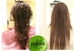 Infore Keratin Treatment Before and After 42