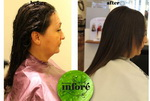 Infore Keratin Treatment Before and After 43