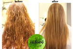 Infore Keratin Treatment Before and After 44