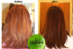 Infore Keratin Treatment Before and After 8