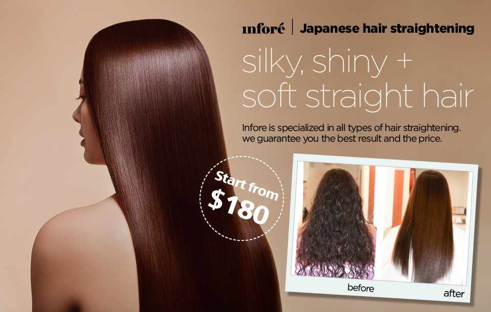 Infore Japanese Hair Straightening Jpg